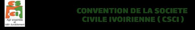Convention de la Société Civile Ivoirienne